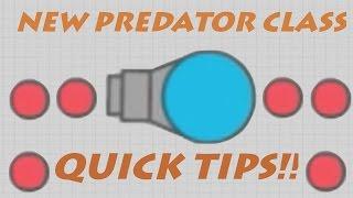 DIEP.IO PREDATOR CLASS!! // Tips & Tricks // Best Sniper Gameplay