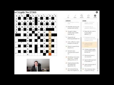 You Too Can Solve The Times Crossword