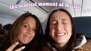 TRAVELING BY PLANE FOR THE FIRST TIME *INTENSE*