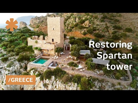 Restoring A Medieval Tower House Near Sparta As Life Project