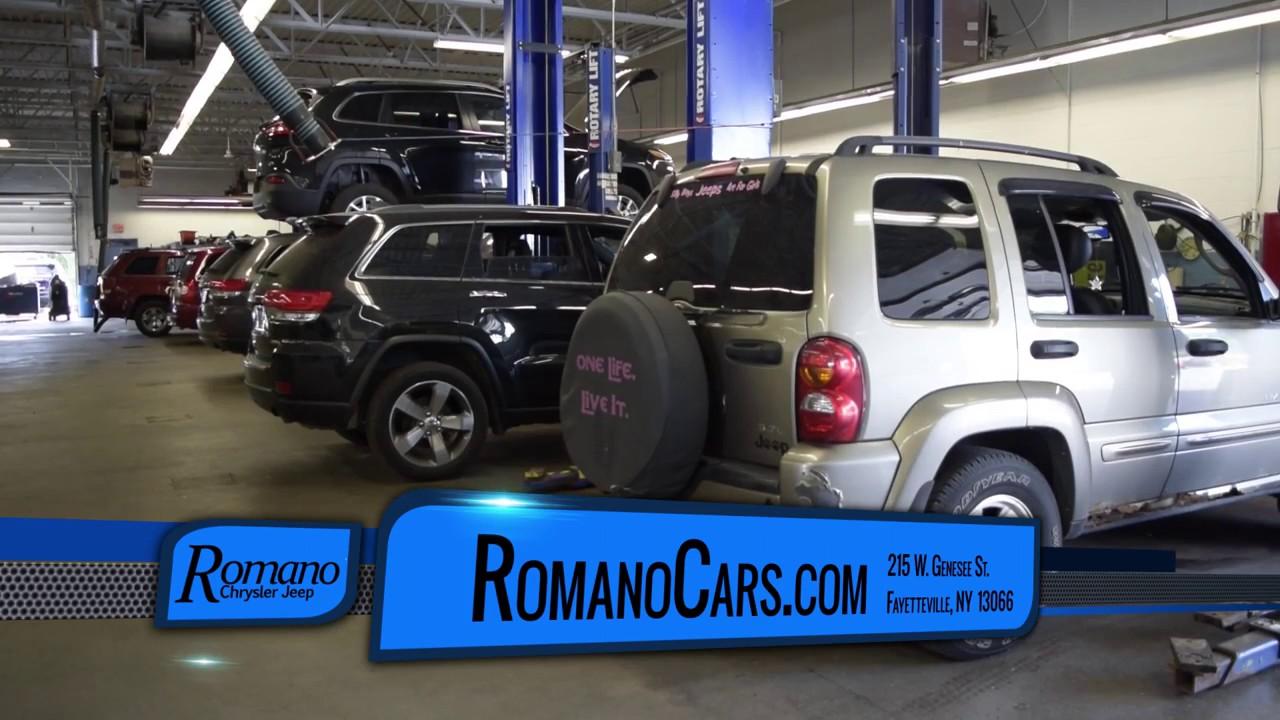 Romano Chrysler Jeep Service - Syracuse, NY - YouTube