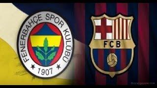 Fenerbahçe, Barcelona ile Hazırlık Maçı Yapacak.