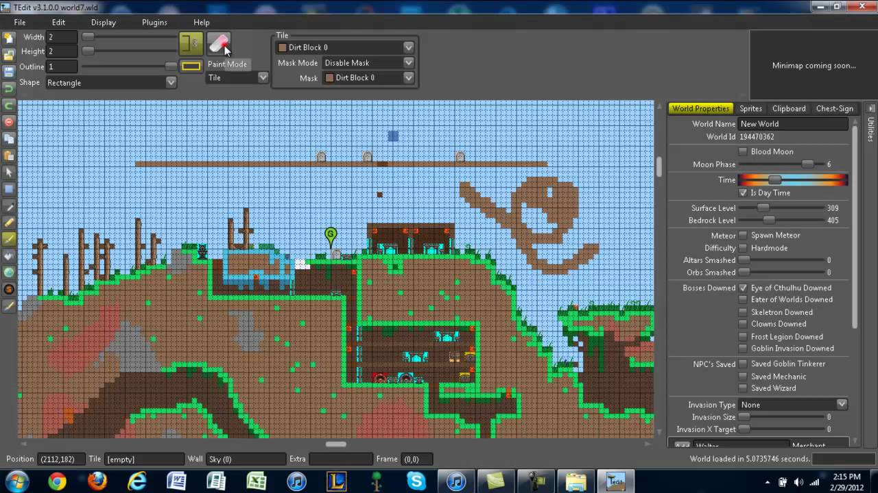 how to find your terraria world folder with tmod