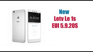 EUI 5.09.20s for letv me 1s