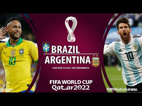 [SOI KÈO BÓNG ĐÁ] Brazil vs Argentina (2h00 ngày 6/9). Vòng loại World Cup 2022 Nam Mỹ