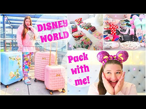 PACK WITH ME FOR WALT DISNEY WORLD FLORIDA!!!  (2019)