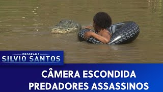Predadores Assassinos - Crawl Prank | Câmeras Escondidas (22/09/19)