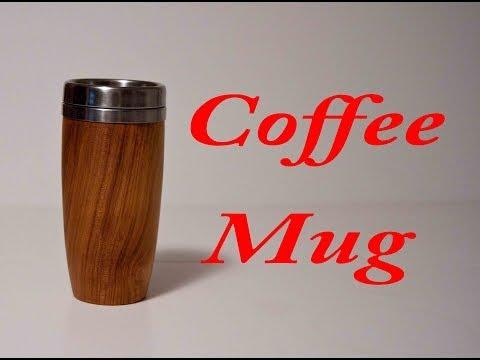 Wood Turning Coffee Mug