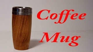 Wood Turning Coffee Mug