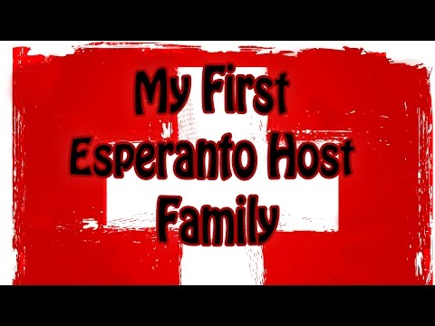 My First Esperanto Host Family