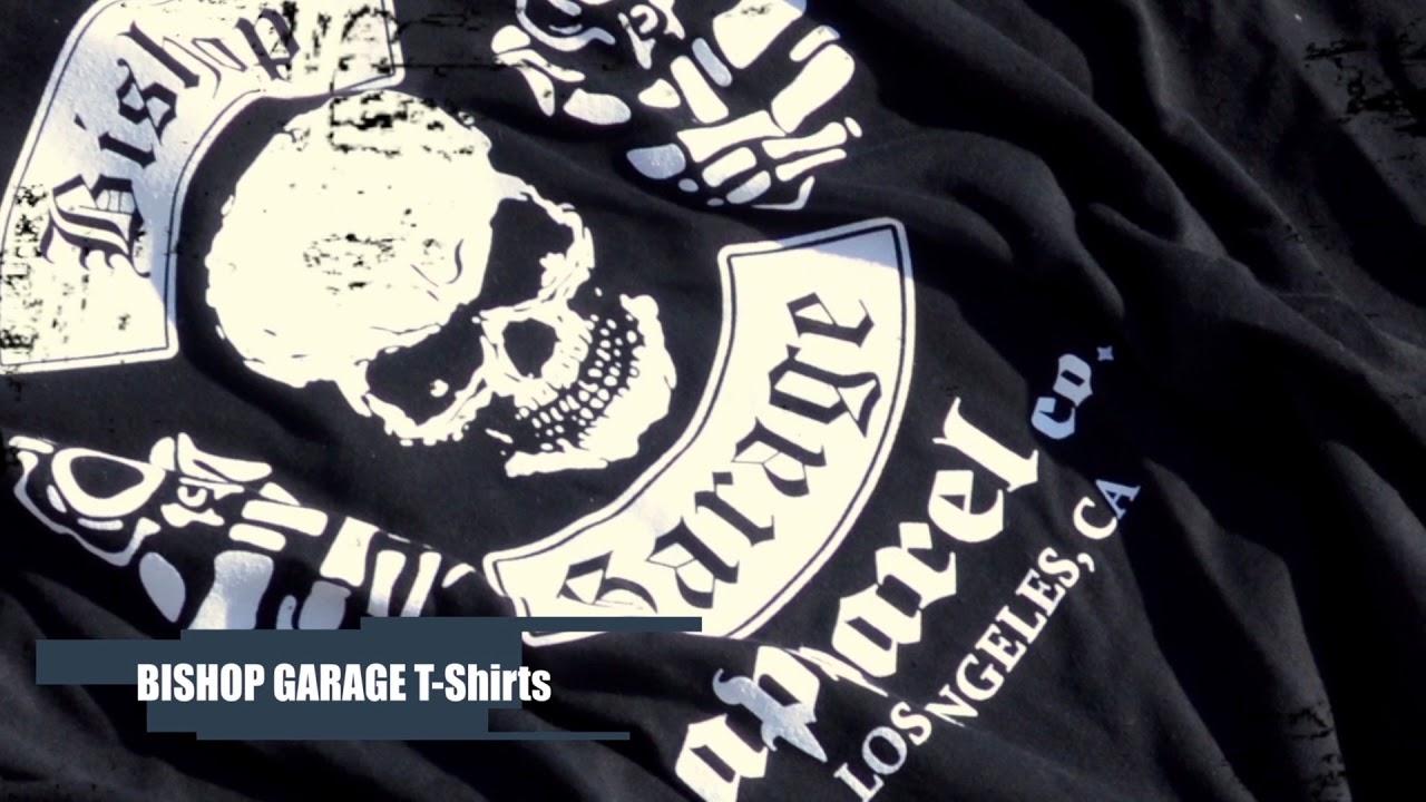 Garage T Shirts : Frankie garage t shirt in black lyst