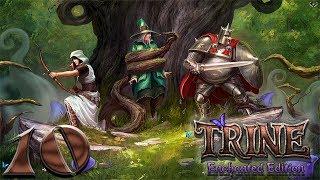 Trine: Enchanted edition прохождение на геймпаде часть 10 Воздушные платформы от Амадея