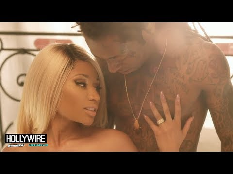 Nicki Minaj & Lil Wayne PDA Alert! - 'High School' Music Video