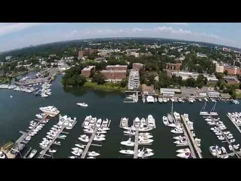 Imperial Yacht Club, New Rochelle, NY Aerial Drone Video