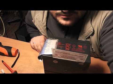 Обзор ИБП APC Smart-UPS 1000 замена батарей - Обзор