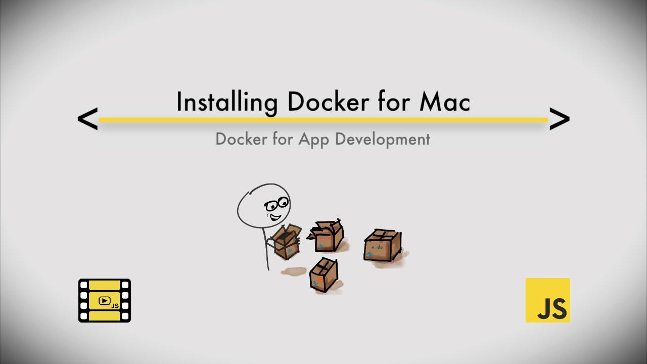Install Docker for Mac