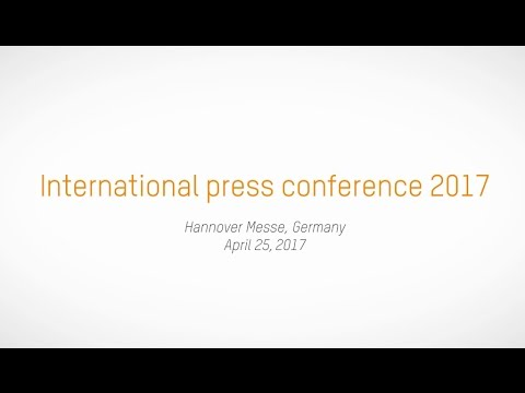 B&R international press conference @ Hannover Fair, April 25th 2017 (English)