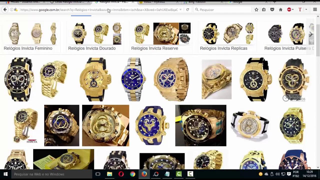 70a2a93c8df lista de fornecedores de relógios invicta Horiginal e replicas Atualizado  2019 2020 - YouTube