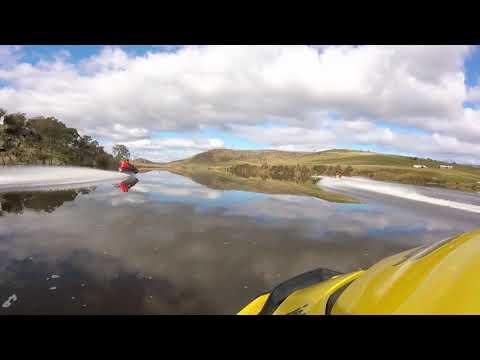 JetSkiTas 2017-18 Season opening ride -Meadowbank Dam Hamilton Tasmania