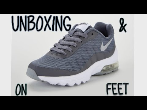 NIKE AIR MAX INVIGOR BLACKGREY UNBOXING AND ON FEET