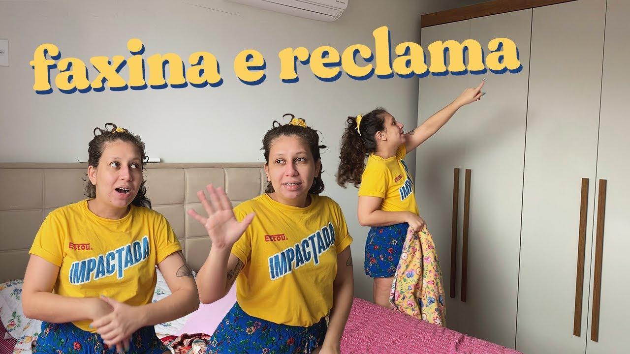 FAXINA E RECLAMA | PRESENTE DE ANIVERSÁRIO DO GUI