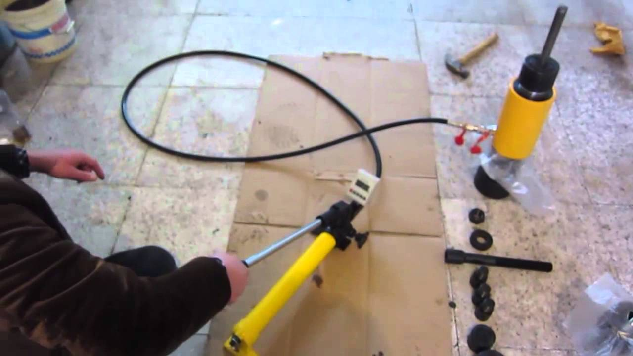 ML Series Anchor Bolt Pull Out Tester Operational Video
