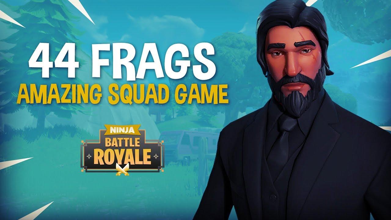 Amazing 44 Frag Duo Squad Game!! – Fortnite Battle Royale Gameplay – Ninja & SypherPK