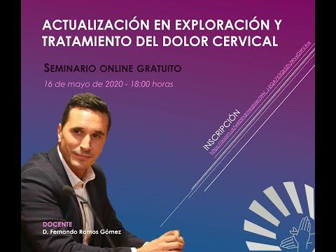 Actualización en exploración y tratamiento del dolor cervical