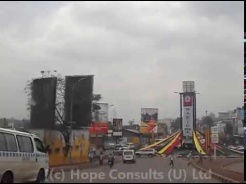Drive Through Kampala City in Thirty Minutes