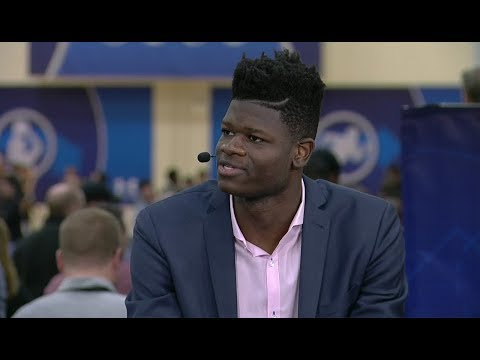 Mohamed Bamba Full Interview | May 17, 2018 | 2018 NBA Draft Combine Day 1