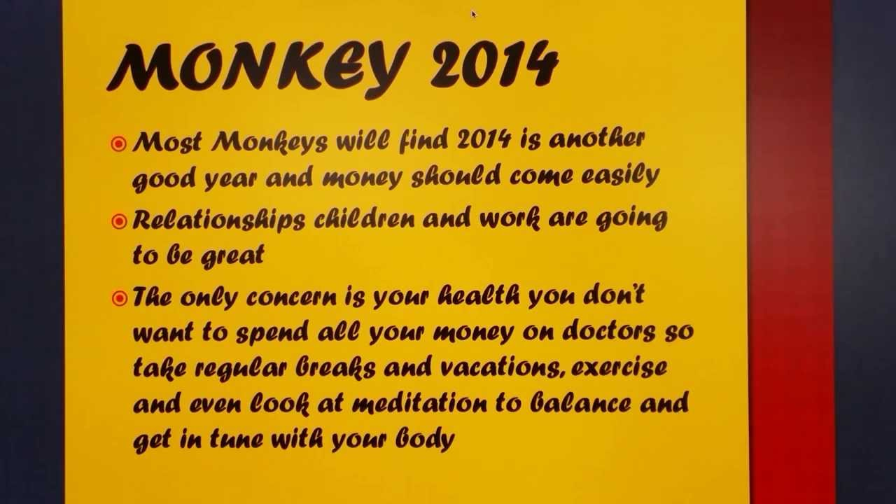 2014 year of the horse monkey relationship