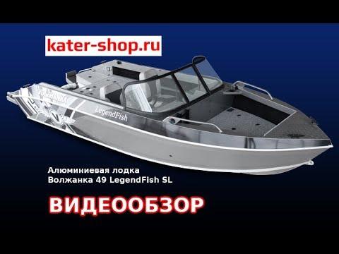 Алюминиевая лодка Волжанка