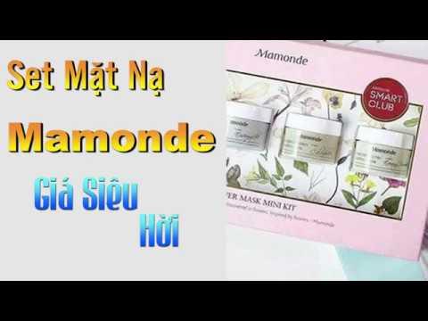 Set 4 mặt nạ Mamonde FLOWER MASK MINI KIT Hàn Quốc   MỸ PHẨM PHÚ THỌ