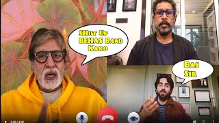 Amitabh Bachchan FIGHT WITH ayushmann khurrana in FACEBOOK LIVE | Gulabo Sitabo Trailer