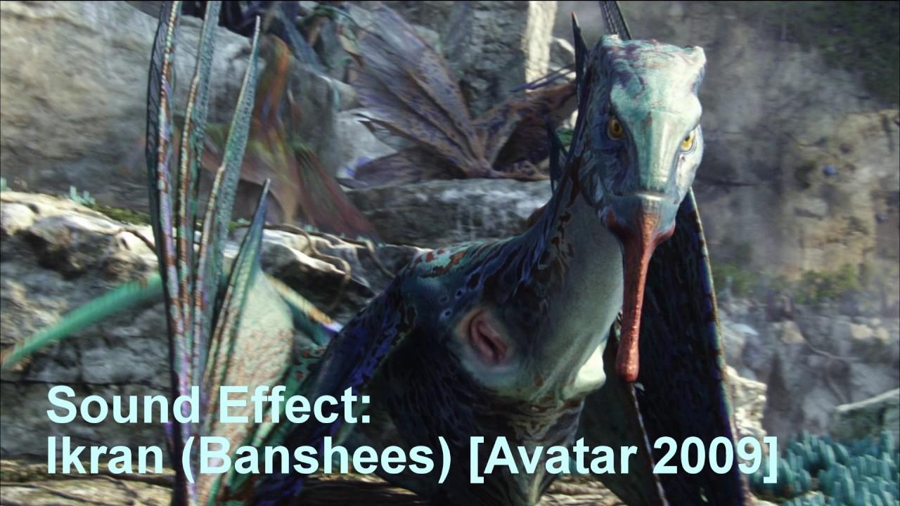 sound effects of ikran (banshees) & toruk (great leonopteryx) - youtube