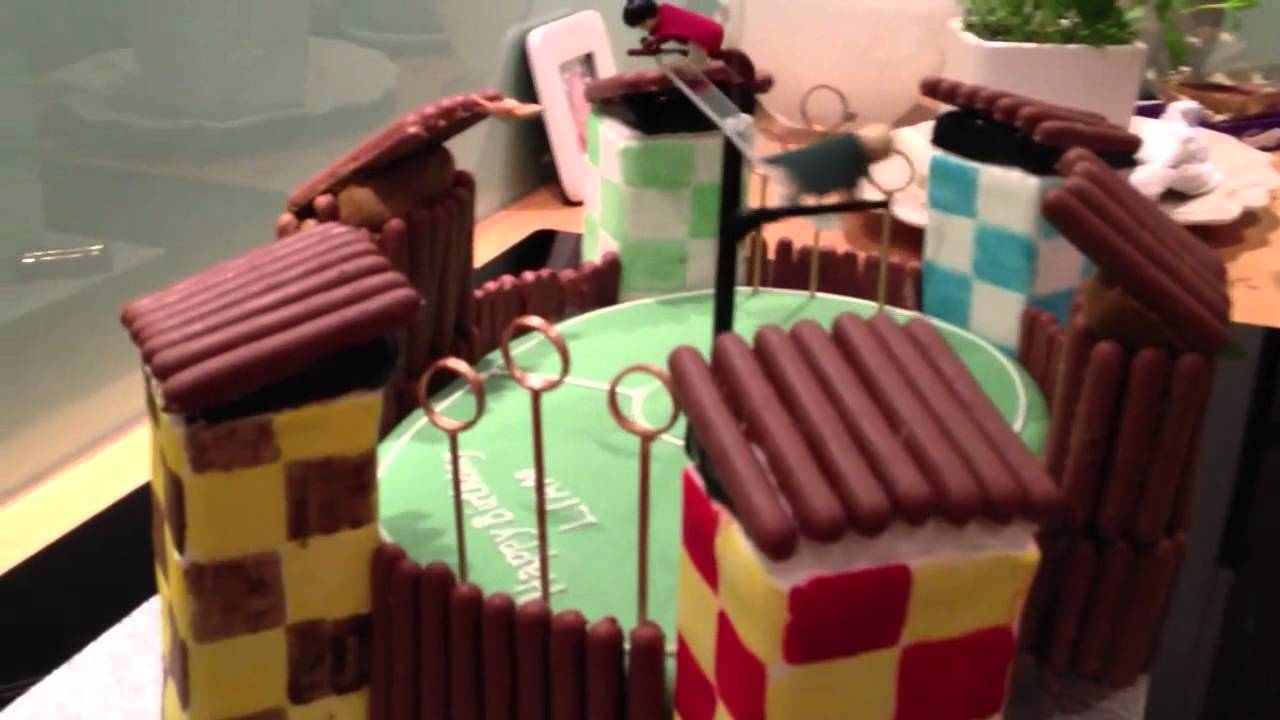 Quidditch Cake Decorations