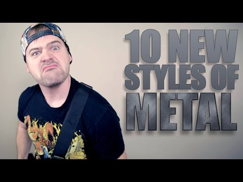 10 NEW STYLES OF METAL // JARED DINES
