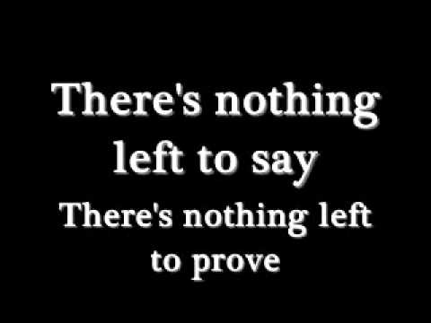 3 Doors Down - What's Left (Lyrics)
