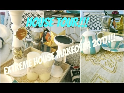 DIY House Makeover 2017 – Home Decor Haul – House Makeover (3 -15)  Decorating Ideas