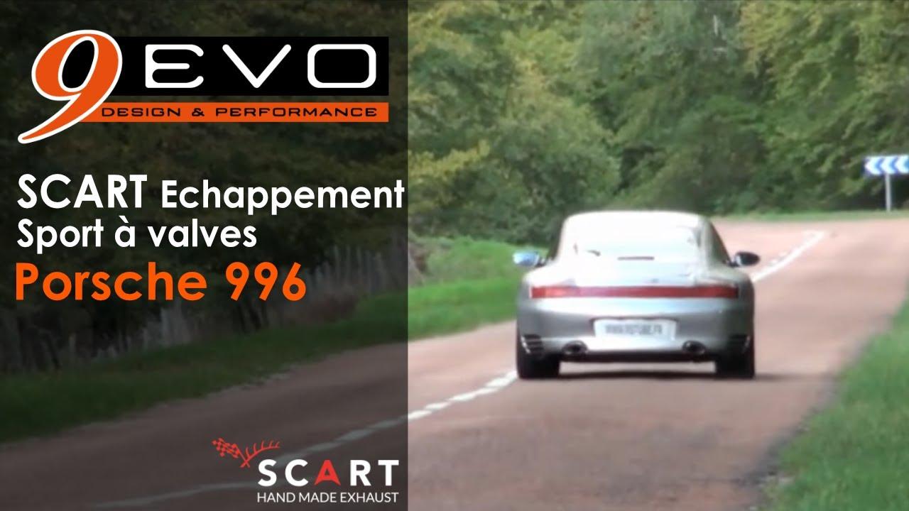 9 evo scart echappement sport valves pour porsche 996 youtube. Black Bedroom Furniture Sets. Home Design Ideas
