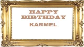 Karmel   Birthday Postcards & Postales