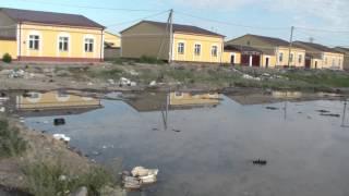 Бухоро туманида 2014 йил топширилган коттеджлар ахволи