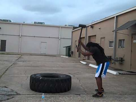 The Avengers Inspired Workouts: Sincere Hogans Thor Inspired Tire & Hammer Workout