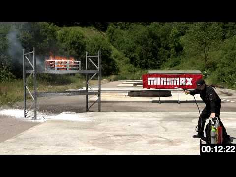 Minimax CAFS fire extinguishers WS 10n-CAFS and WS 50n-CAFS