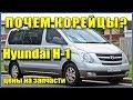 Что выбрать? Hyundai H1 2008-2018 обзор цен на запчасти. Самое дорогое - сцепление. И не только оно.