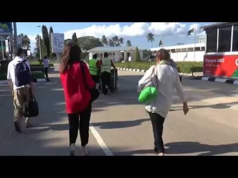 Tanzania Zanzibar Airport 24 Sept '14