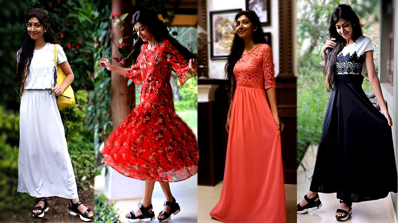 9d7597ca4a5 Indian Youtuber - FashionMia Dresses Review   Try-on Haul - YouTube