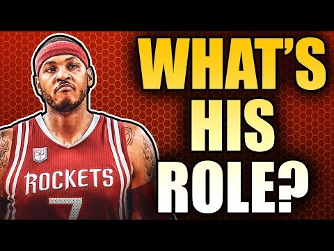 Carmelo Anthony's NEW Role With Houston