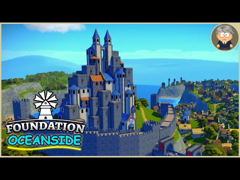 1000 Villagers 🌴 Oceanside - Foundation Gameplay - END