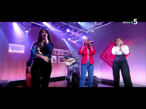 Youtube: Le live: Amel Bent, Vitaa et Camélia Jordana«Ma Soeur» – C à Vous – 02/06/2021
